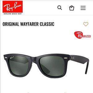 100% Authentic Ray Ban Wayfarer retail $203